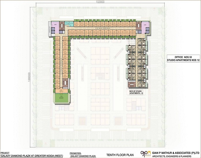 Galaxy Business Spaces Site Plan