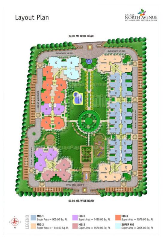 Galaxy North Avenue Site Plan